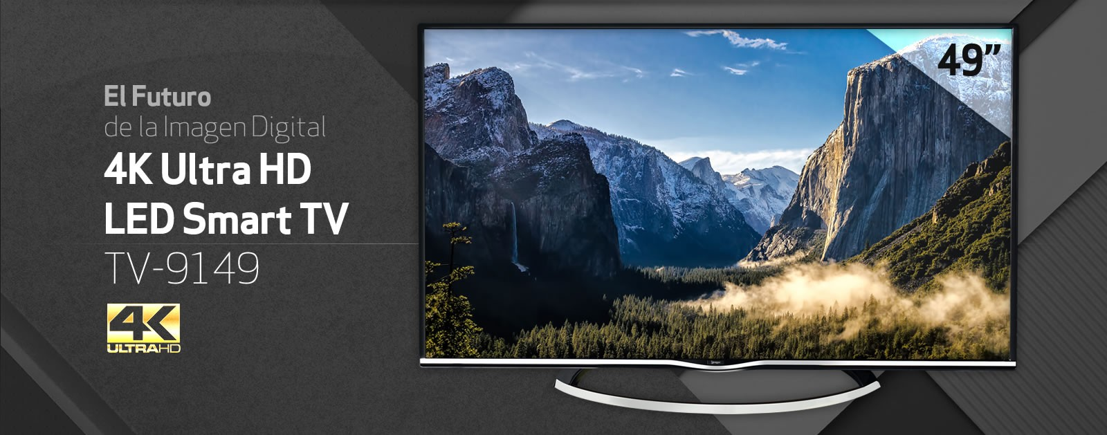 Smart TV 4K Ultra HD LED TV-9149